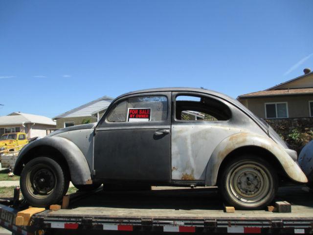 1958 vw ragtop european model semiphores all original project car no rust for sale volkswagen. Black Bedroom Furniture Sets. Home Design Ideas