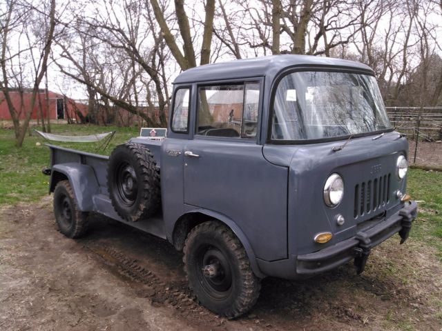 1958 Willys -overland Fc170 Jeep For Sale