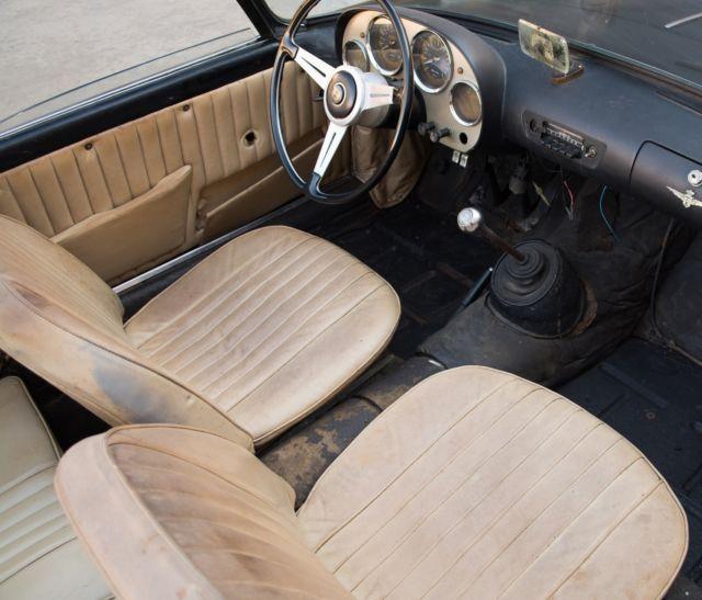 1959 Alfa Romeo 2000 Spider Convertible For Sale