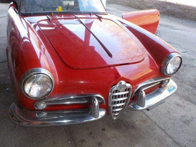1959 Alfa Romeo 750 F GIULIETTA SPIDER VELOCE Restoration ... Alfa Romeo Giulietta Fuse Box Location on