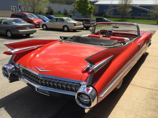 1959 Cadillac Convertible 36,930 Orig Miles! Great
