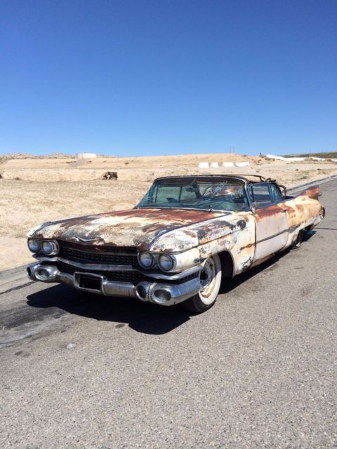 1959 Cadillac Convertible Series 62 Elvis Rat Rod Hot