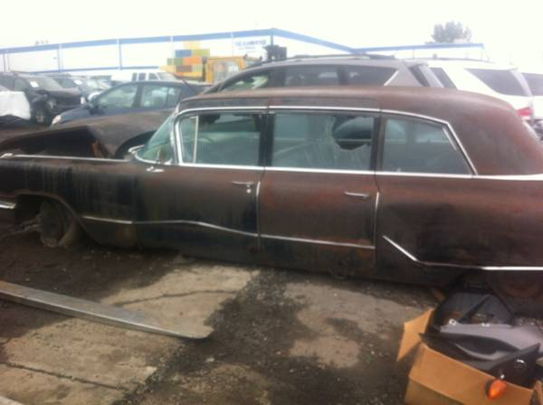 1959 Cadillac limo parts only for sale - Cadillac Fleetwood