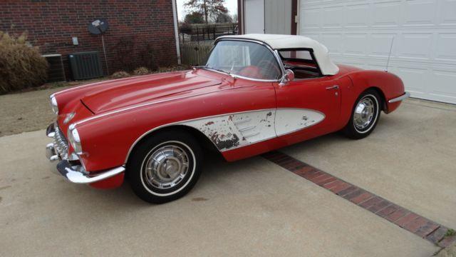 Cars For Sale In Arkansas >> 1959 Chevrolet Corvette Roadster running/driving project car for sale - Chevrolet Corvette 1959 ...