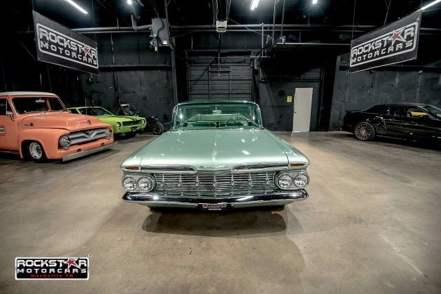 1959 Chevrolet El Camino Ss 1 Green 327 V8 Automatic For