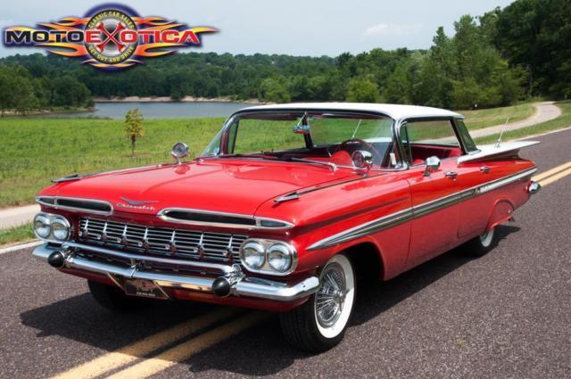 1959 Chevrolet Impala Hardtop Sports Sedan Flattop No