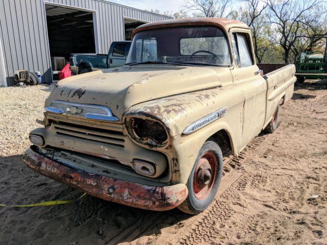 1959 Chevy Apache 32 Fleetside Truck For Sale