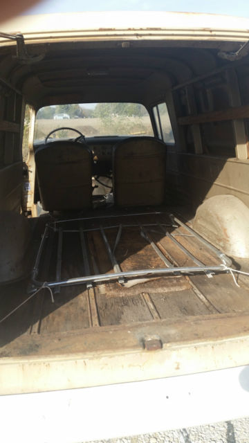 1959 Chevy Apache Suburban Sedan Delivery Panel Truck For