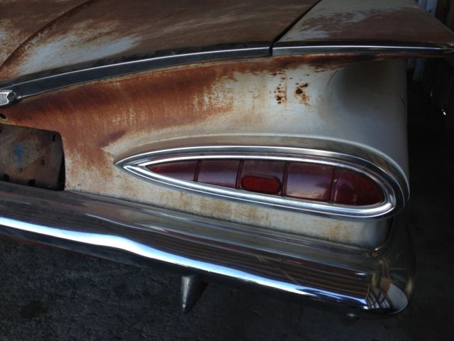 1959 Chevy Biscayne Sedan Rat Rod Hot Rod 60 61 For Sale