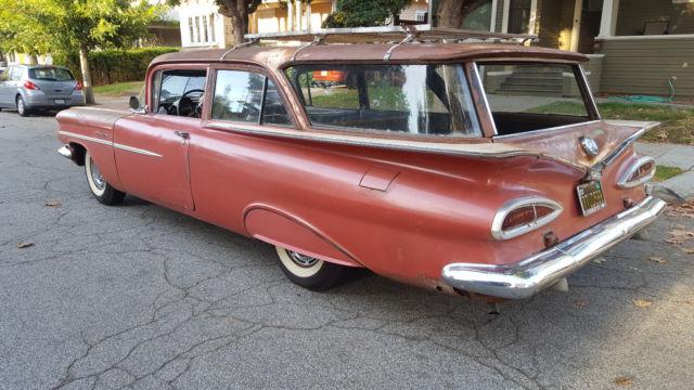 1959 Chevy Original 2 Door Brookwood For Sale Chevrolet