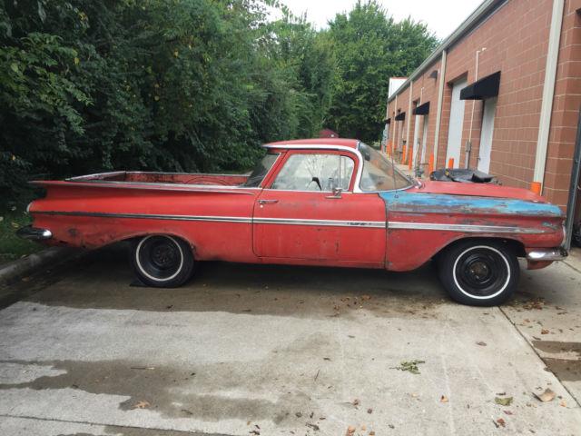 1959 El Camino, Impala, hot rod, unrestored for sale