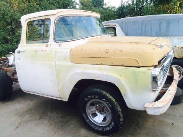 1959 Ford Truck F100 Big Back Window Custom Cab 1958 1957