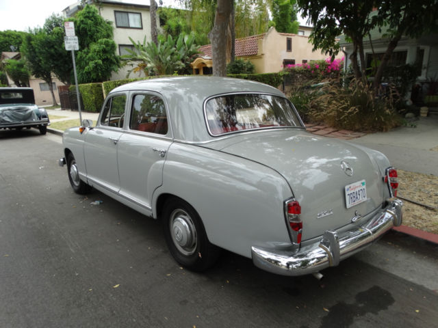 1959 mercedes benz 190 diesel german model salon 4 door sedan excellent for sale mercedes benz. Black Bedroom Furniture Sets. Home Design Ideas