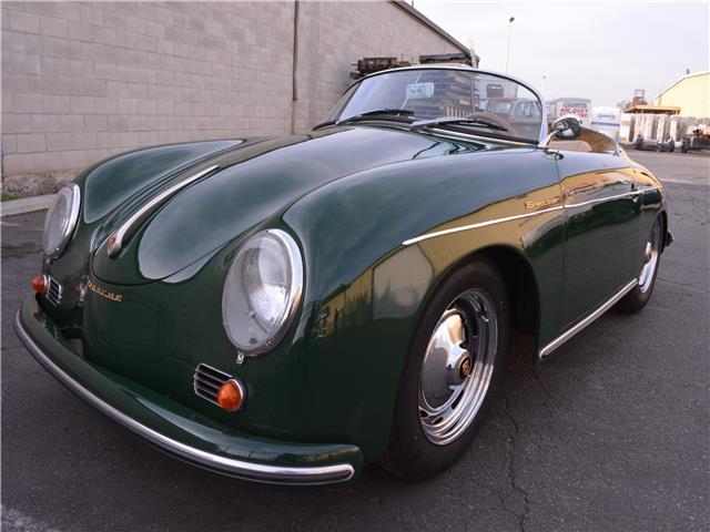 1959 Porsche Speedster Super 1600 13 142 Miles Green