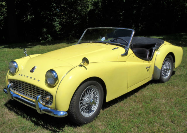 1959 Triumph Tr3a Beautiful Car No Reserve Tr3 Roadster For Sale
