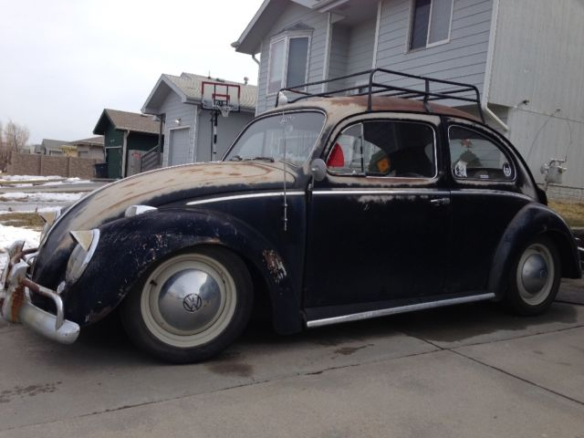 1959 vw beetle original paint rat rod for sale volkswagen beetle classic 1959 for sale in. Black Bedroom Furniture Sets. Home Design Ideas