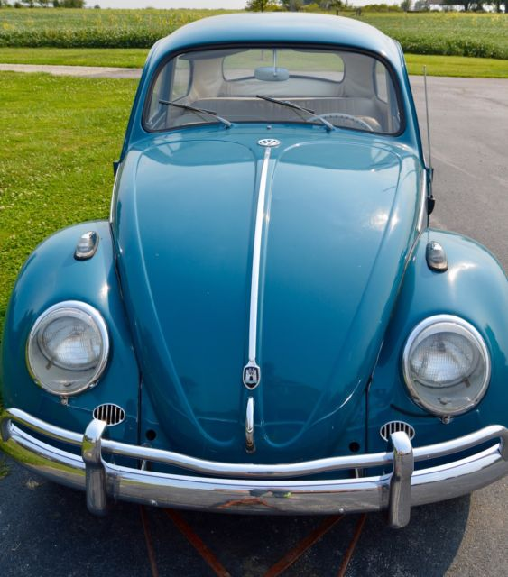 Volkswagen Bug For Sale: 1959 VW Bug With Rebuilt 1960 VW Bug 1385 CC Engine (40 Hp