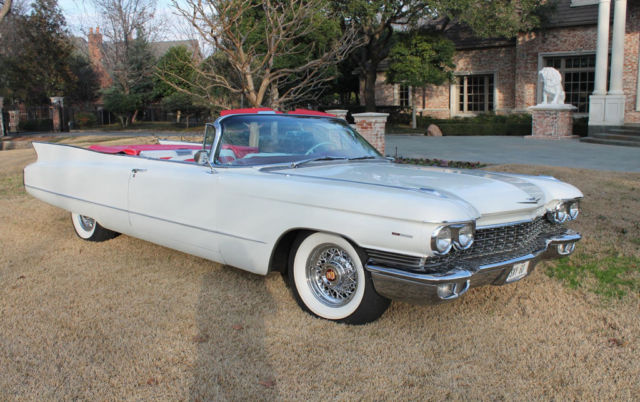 1960 cadillac deville convertible 38 953 original miles all original car for sale cadillac. Black Bedroom Furniture Sets. Home Design Ideas