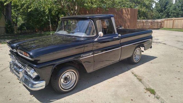 1960 Chevrolet Apache C10 Barn Find Hot Rat Rod Patina Ice Cold Ac
