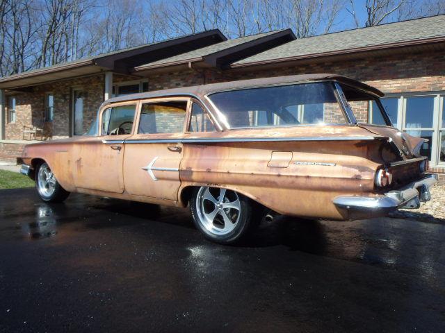 1960 Chevrolet Kingswood Wagon Diesel Rat Rod For Sale