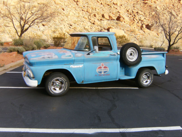 1960 chevrolet c10 stepside short bed pick up pictures to pin on pinterest