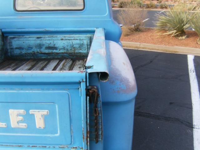 1960 chevy c 10 apache short bed stepside shop truck vintage w 348 big block for sale