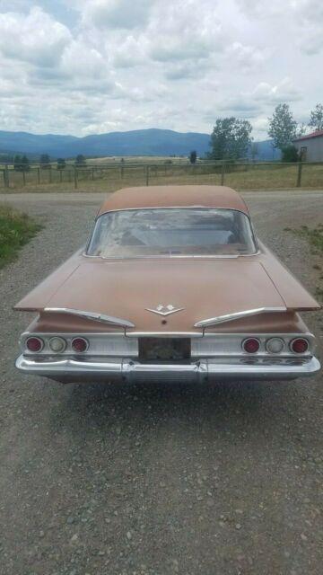 1960 CHEVY IMPALA: 348 BIG BLOCK V8, FACTORY AUTO  HOT RAT