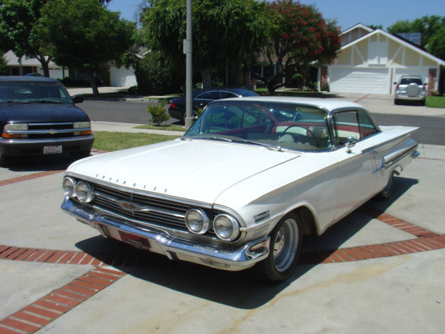 1960 chevy impala 348 bubbletop coupe 1958 1959 1961 1962 for sale chevrolet impala 1960 for. Black Bedroom Furniture Sets. Home Design Ideas