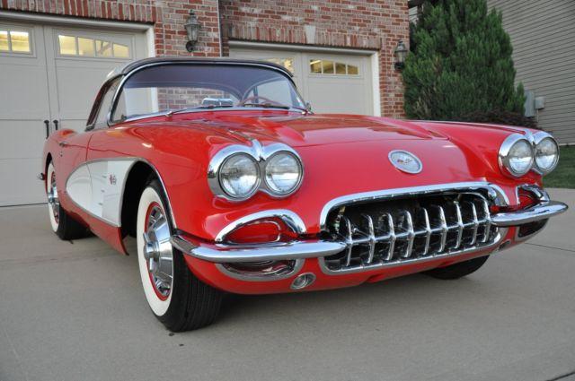 1960 Corvette Convert Removable Hardtop 350 Tp Fuel