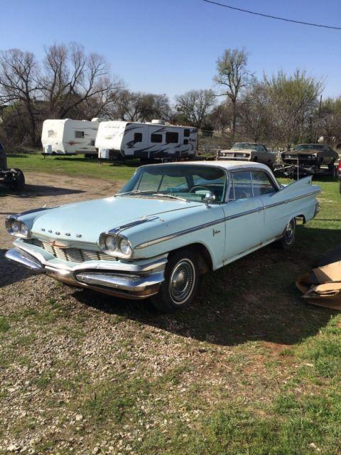 1960 Dodge Polara 4 Door Hardtop For Sale Dodge Polara 1960 For Sale In Prosper Texas United States
