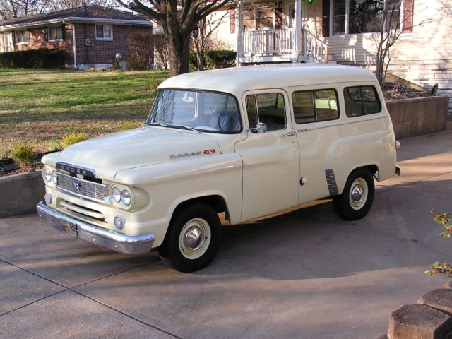 1960 dodge town wagon suburban station wagon truck rat street hot pro rod for sale. Black Bedroom Furniture Sets. Home Design Ideas
