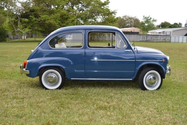 1960 fiat 600 primaserie italian perfect condition. Black Bedroom Furniture Sets. Home Design Ideas