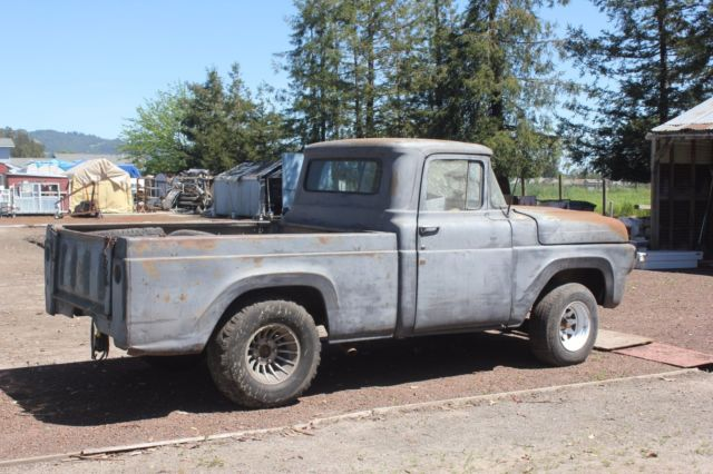 1960 ford f100 california truck with no reserve super project for sale ford f 100 f100. Black Bedroom Furniture Sets. Home Design Ideas