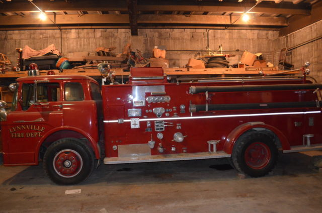 Cars For Sale In Iowa >> 1960 Ford Fire Truck for sale - Ford C 850 1960 for sale in Williamsburg, Iowa, United States