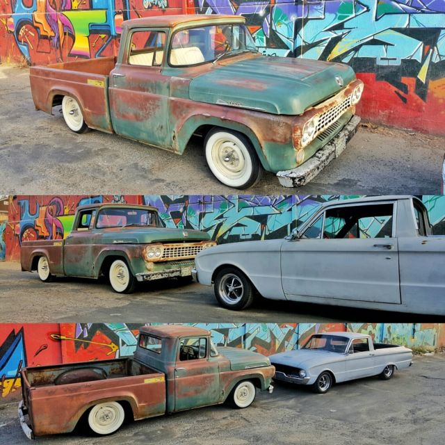 1960 Ford Patina Ratrod Shop Truck For Sale