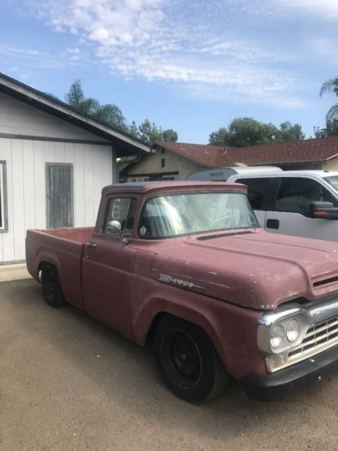 1960 ford truck for sale ford f 100 1960 for sale in paris tennessee united states. Black Bedroom Furniture Sets. Home Design Ideas