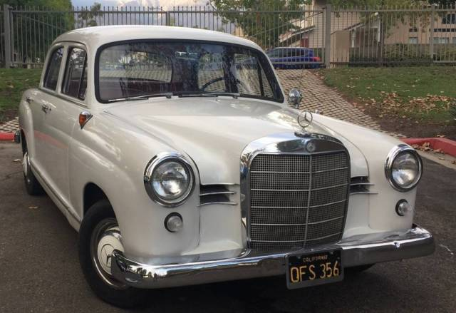 1960 mercedes benz 190 ponton w121 for sale mercedes for Mercedes benz 190 for sale