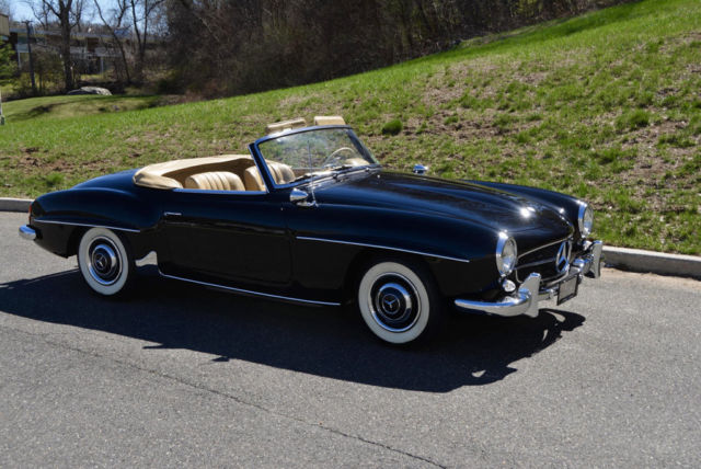 1960 mercedes benz 190sl in stunning condition for sale for Classic mercedes benz for sale ebay