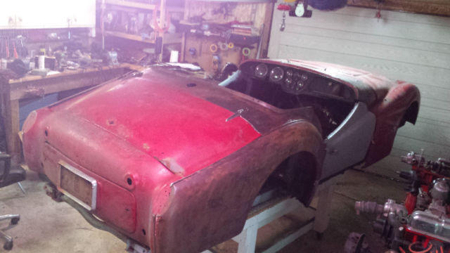 1960 Triumph TR3A Project - complete, lots of spares