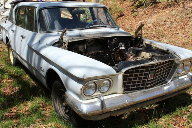 1960 Valiant suburban 200 4 door station wagon for sale