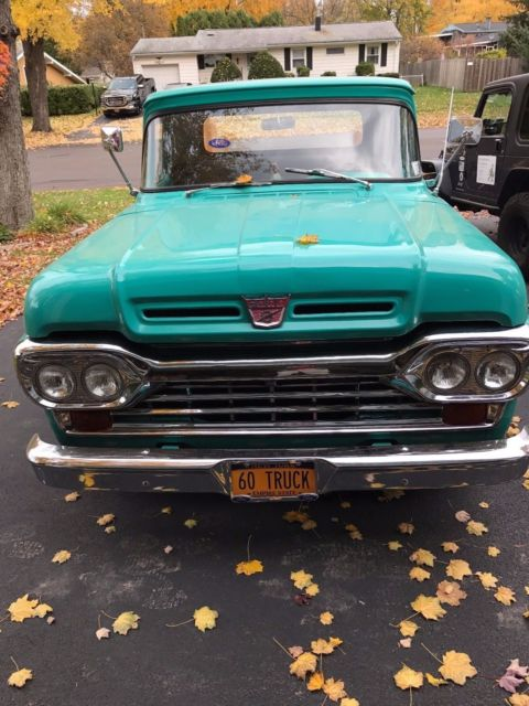 1960 vintage ford 000 if you cannot afford it stop here go to the next truck for sale ford f. Black Bedroom Furniture Sets. Home Design Ideas