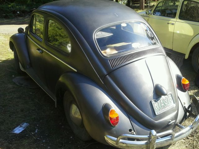 1960 vw 1200cc engine 4 speed manual survivor runs no. Black Bedroom Furniture Sets. Home Design Ideas