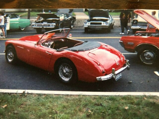 1961 austin healey 3000 bt7 with working overdrive for. Black Bedroom Furniture Sets. Home Design Ideas