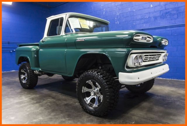 1961 Chevrolet Apache 10 4wd Lifted Truck With Upgraded