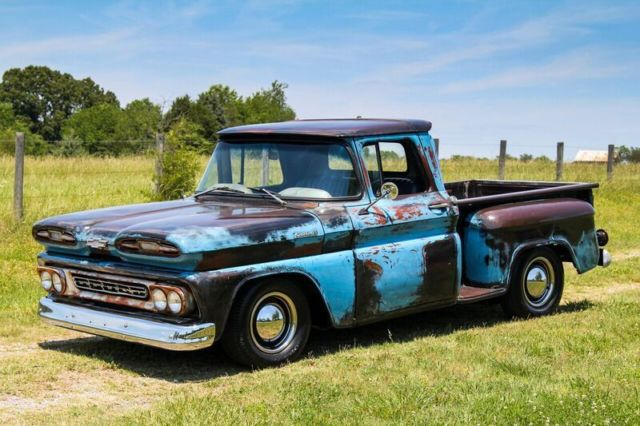 1961 chevy apache patina truck for sale chevrolet other pickups 1961 for sale in lynchburg. Black Bedroom Furniture Sets. Home Design Ideas