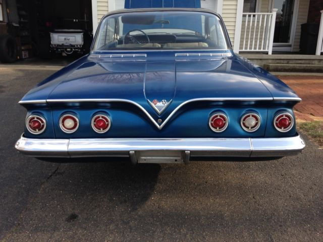 1961 Chevy Impala Bubble Top 2 Door Hardtop Chevrolet