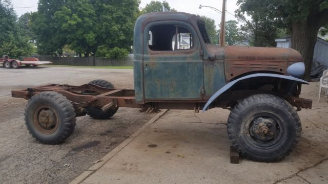 1961 dodge power wagon wm300 civilian w both data plates for Motorized wagon for sale