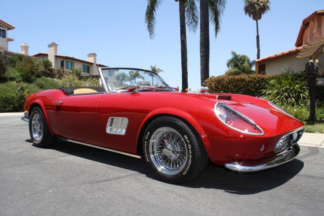 1961 Ferrari 250 Gt Modena California Spyder Ferris Bueller S Day