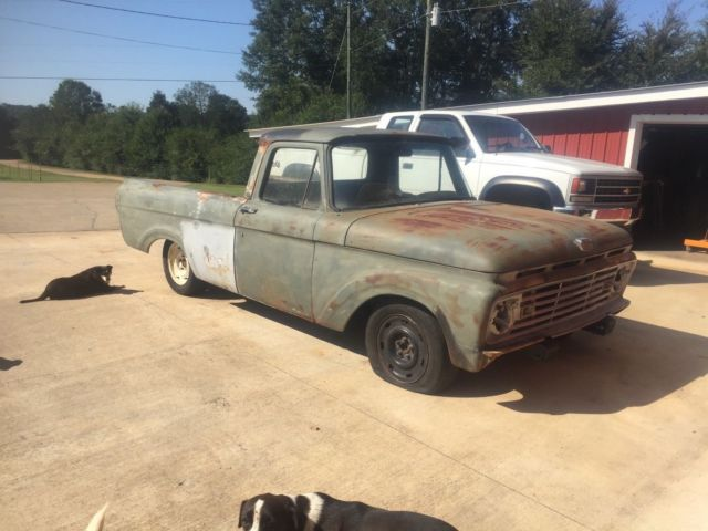 1961 Ford Unibody Truck Short Wheel Base clean frame Crown