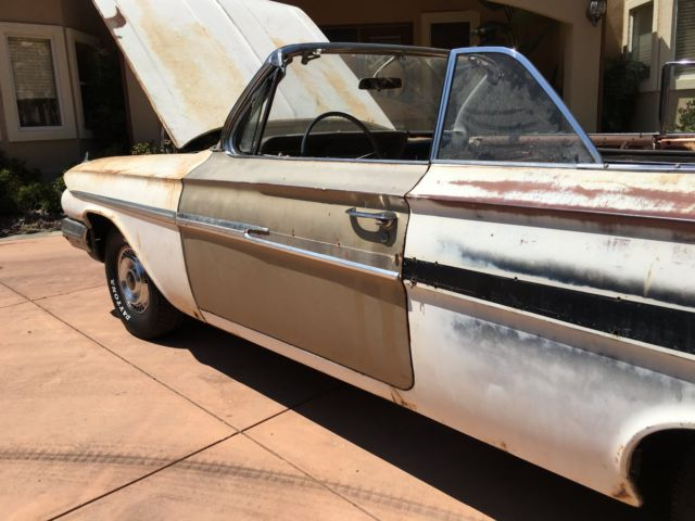 1961 impala convertible 348 ss 327 283 409 for sale chevrolet impala ss impala 1961 for sale. Black Bedroom Furniture Sets. Home Design Ideas